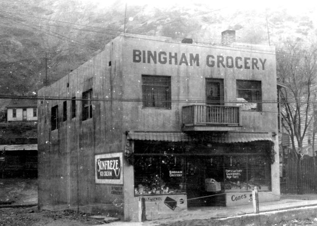 181 Main Street, Bingham Canyon, circa 1936. Tax Appraisal Photographs.