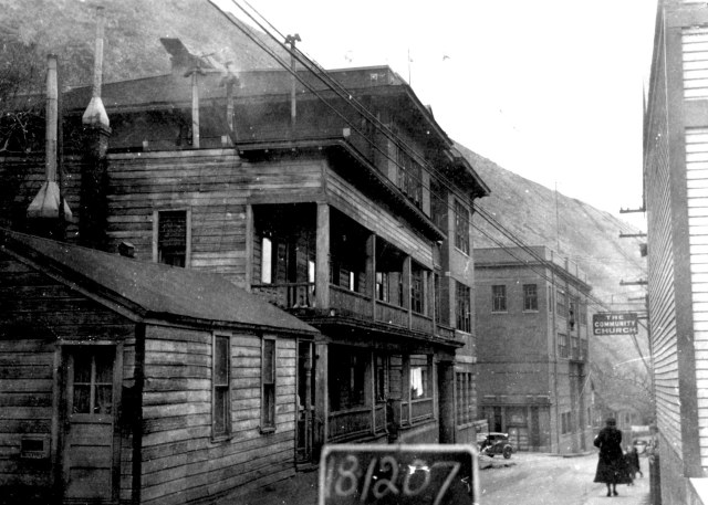 336 Main Street, Bingham Canyon, circa 1936. Tax Appraisal Photographs.