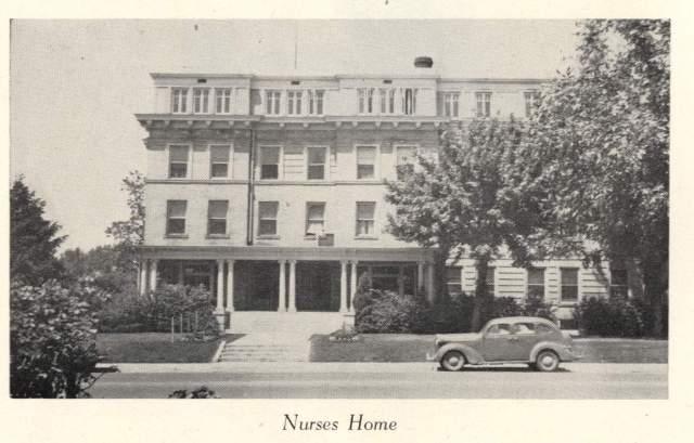 Nurse's Home, circa 1948.