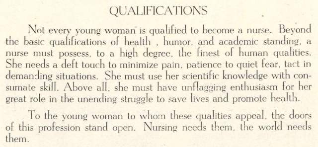 School of Nursing p7 qualifications cropped