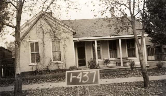 717 South 200 (now 300) West, photo taken in 1936; house built circa 1884.