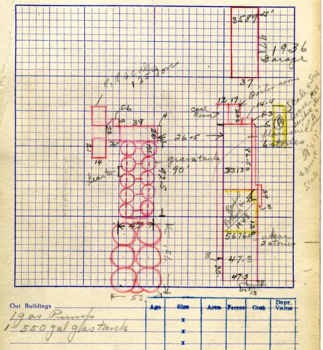 Tax Appraisal Cards, circa 1937.