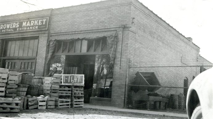 460-464 South West Temple, built in 1929. Photograph taken in 1937.