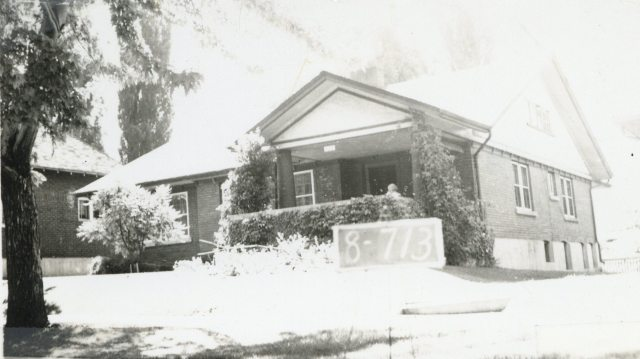 1126 East Michigan Avenue, circa 1937.