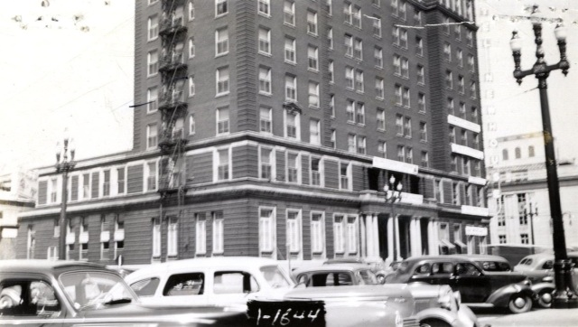 Newhouse Hotel, circa 1939.
