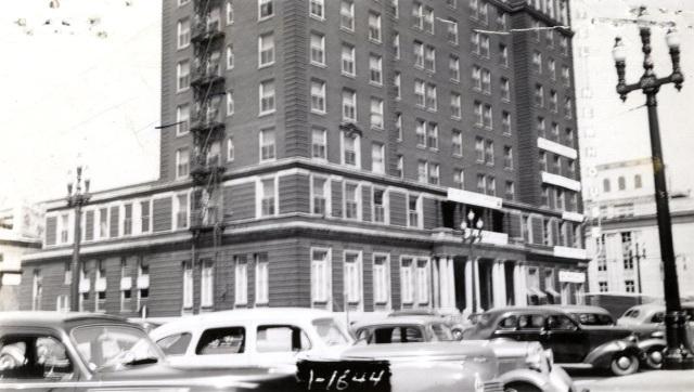 Newhouse Hotel, circa 1939.