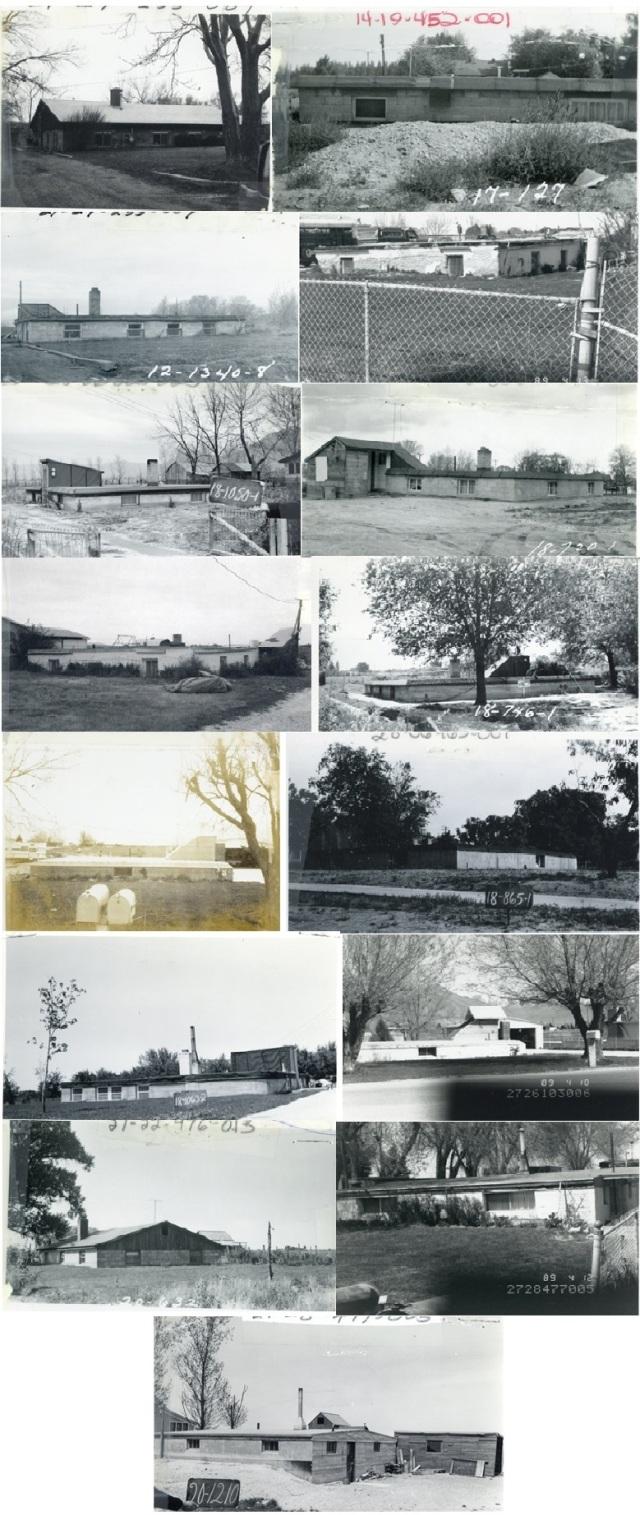 Photos of Salt Lake County basement homes.