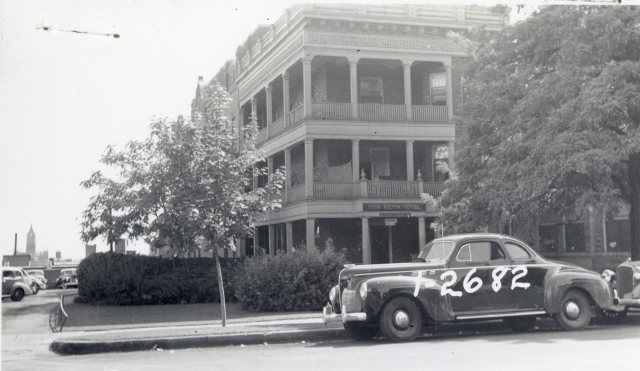 122 East South Temple, photograph taken in 1939.