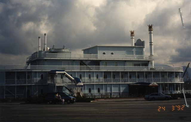 The Riverboat in 1992. Salt Lake County Planning and Development photographs, Salt Lake County Archives.