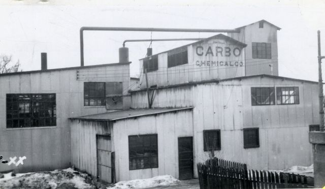Carbo Chemical Plant, circa 1948. Salt Lake County Tax Appraisal Photographs, parcel 16-20-229-006.